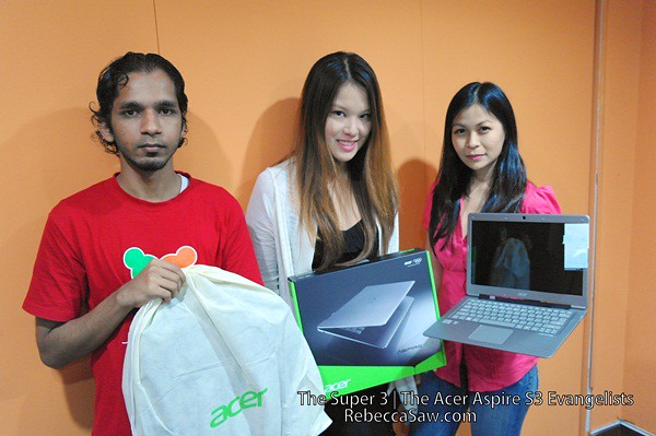 Acer aspire S3 evangelist