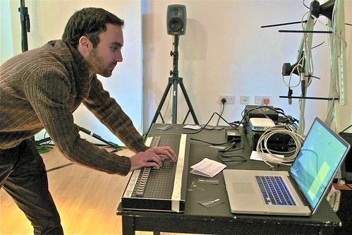 Julien Guillamat performs at  Supersonic Festival