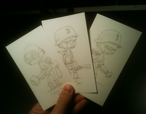 SPACECAVE ONE Sketchcards