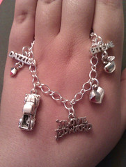 I love Edward twilight charm bracelet