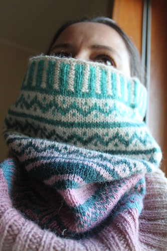 """Playing with Kauni"" Cowl"