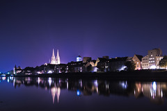 Blue Night (ALX74) Tags: tower church dom regensburg trme