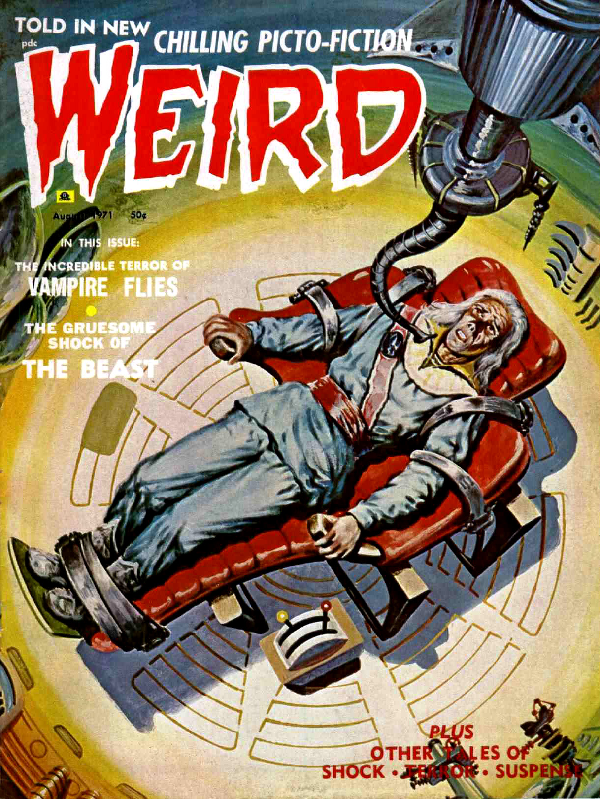 Weird Vol. 05 #4 (Eerie Publications, 1971)