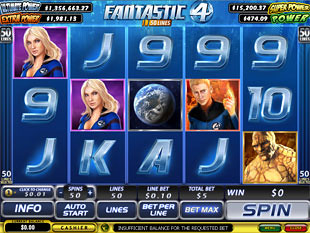 Fantastic Four 50 Lines slot game online review