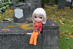 Hanging out at the graveyard!