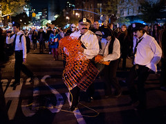 Ketteling Kops (Lumn8tion) Tags: nyc costumes newyork halloween nikon parade gothamist greenwichvillage 2011 d700