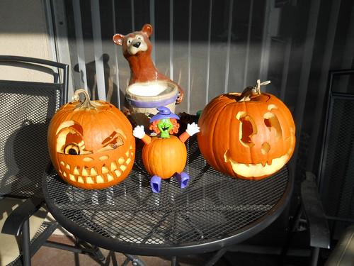 Daytime Pumpkins