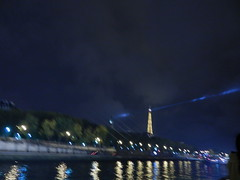 Eiffel Tower from the Seine