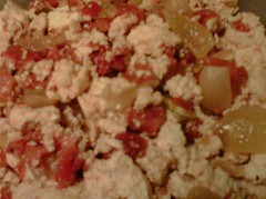 Rotel Tofu Scramble