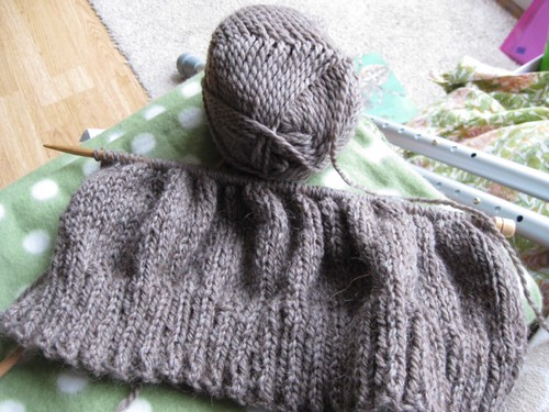 Knitting by rowsew