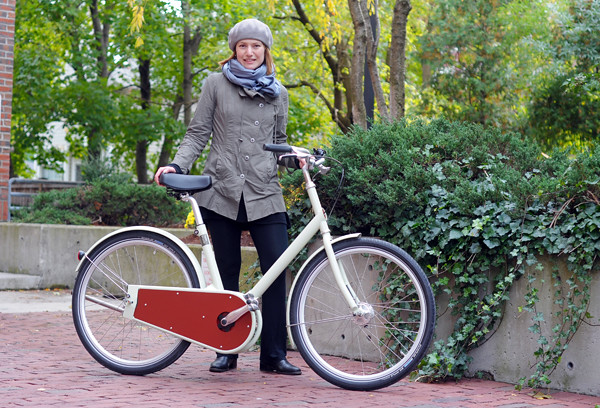 Lovely Bicycle reviews a Paper Bicycle