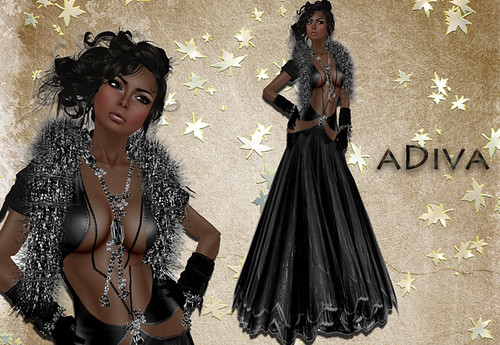 aDiva couture Contes Gown Night