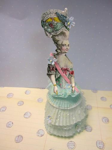 Cupcake Liner Dolls! 6