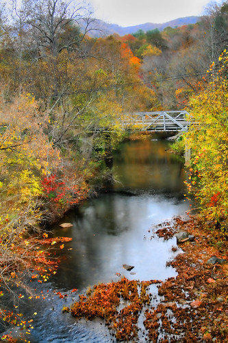 Bridge across the Peddler River