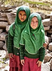 School kids. (Prabhu B Doss) Tags: school people india cute kids nikon uniform zanskar ladakh kargil travelphotography jammuandkashmir 2011 purdah bikeexpedition incredibleindia d80 padum parkachik prabhub prabhubdoss tangol zerommphotography 0mmphotography