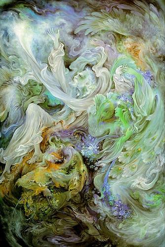 020-Mahmoud  Farshchian-Atraccion celestial-via deviantART