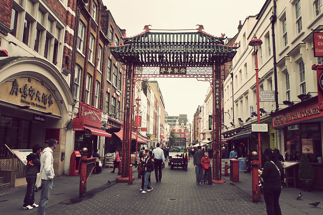 London. China Town