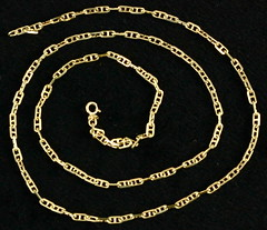 4034. 14KT Gold Chain Necklace