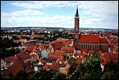 Landshut, Germany (BurstsofSingleMindedness is looking for an alterna) Tags: germany deutschland bavaria landshut stmartinschurch mygearandme