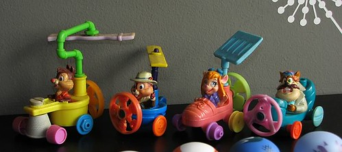 Rescue Rangers Happy Meal Toys