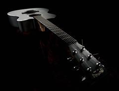 C.F. Martin & Co. Est. 1833 (Anders Madsen) Tags: stilllife beauty studio martin guitar flash stilleben onblack elinchrom andersmadsen anotherblackpearl d700 2470mmf28g bx500ri