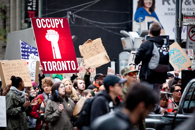 OccupyTO March - October 23