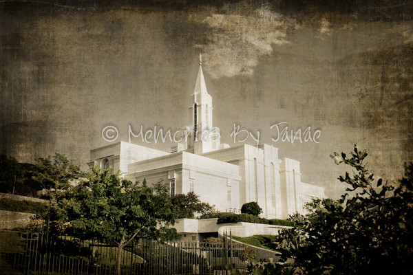 Bountiful Vintage LDS Temple Prints -