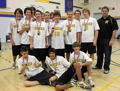 Jr. Boys Volleyball Silver - Fort Frances Muskies