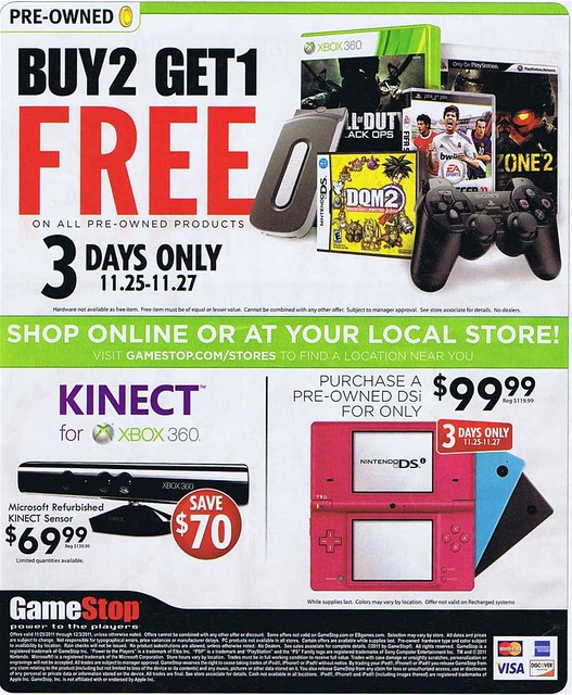 GameStop Black Friday 2011 Ad Scan - Page 12