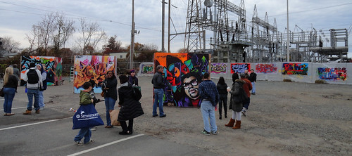 Jersey Shore Aerosol Art Battle Against Hunger by eL hue V