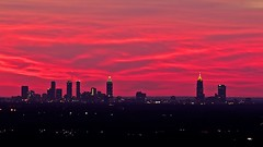 Atlanta Sunset Cityscape (Gerg1967) Tags: atlanta sunset clouds cityscape places canoneos60d