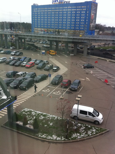 View from my Russian prison hotel room