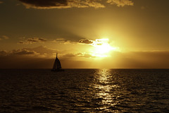 Maui Gold (Bill_Oswald) Tags: ocean sunset hawaii sailing unitedstates maui lahaina lanai abigfave bestcapturesaoi