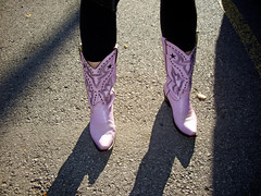 She_Wolf and The Lavender boots (she wolf-) Tags: life ontario canada train trek fun boots lavender take happytimes connection the candada art favoriteboots november2011 dianekramerslavenderboots shewolfslavenderboots travelingboots goodluckboots healingboots ontheroa