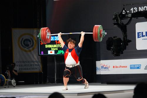 女子+75kg級 嶋本麻美選手