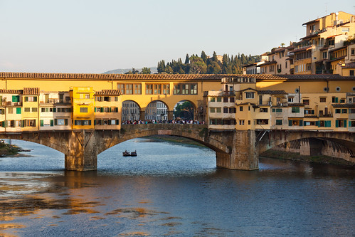 Ponte vecchio - The old bridge by feradz