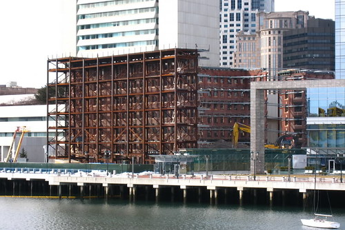 Russia Wharf Facade Bracing - Boston
