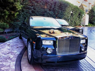 Rolls Royce Phantom in Vegas!