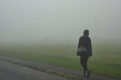 Fog on the Heath (Julie70) Tags: london fall fog automne walking photo blackheath heath mostinteresting brouillard 2011 julie70 copyrightjkertesz photojuliekertesz photojulie70 120of50000