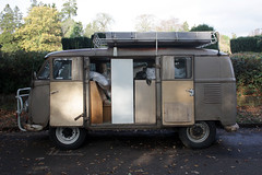 loaded up (zombikombi1959) Tags: bus van kombi 1959 workhorse bulli roofrack type2 ckd