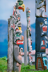 015436-01 (Patty L 2012) Tags: alertbay art artifact artwork britishcolumbia canada canadian carving characteristic coast coastline coastal coasts colorful colourful cultural culture detail earth ethnicity habitat homo homosapiens indian indigenouspeople indigenousperson kwakiutl location malcolmisland native nativeamerican nature northamerica northamerican object painted people person physicalmatter shore subject substance totem totempole totemic tradition traditional tribal tribe wood usa