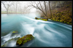 Big Spring (Josh Merrill Photography) Tags: statepark morning blue copyright green nature water fog photography spring big joshua josh missouri vanburen ozarks ozark allrightsreserved merrill bigspring ozarknationalscenicriverway joshmerrillphotography joshmerrillphotographycom joshmerrillphotography