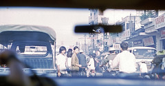 morning Saigon traffic and smog (over 16,000,000 views Thanks) Tags: vietnam war phulam longbinh pacfo usastratcom georgelane 1969 saigon