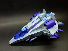 F - 6 Hawk V2 (2) (SuperHardcoreDave) Tags: fighter lego tech space future scifi spaceship weapons starship moc starfighter spacefighter