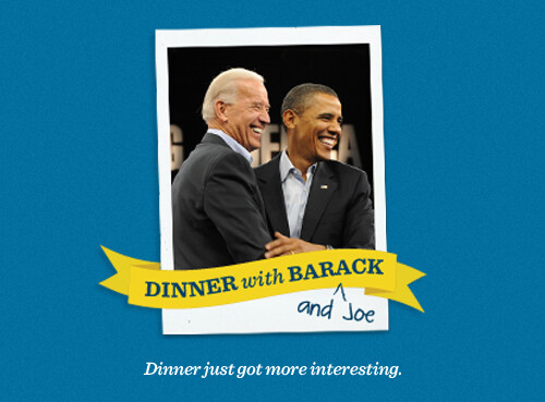 Dinner with Barack and Joe