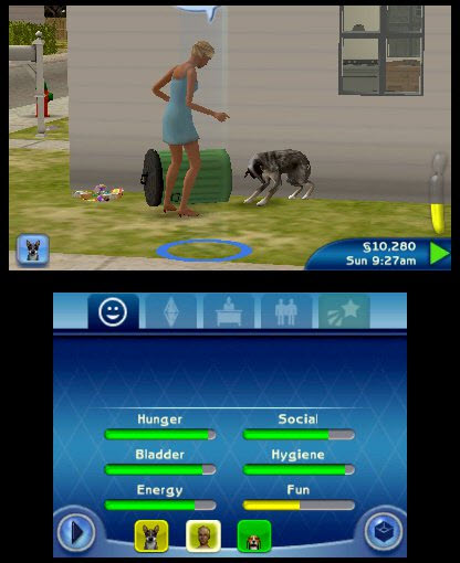 The Sims 3 Pets Bad Dog
