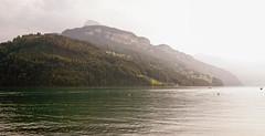 photo Brunnen - resort on Lake Lucerne in Switzerland (Slobodan Miskovic) Tags: lake nature clouds switzerland nikon brunnen tokina lucerne 1224 d80