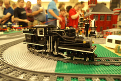 BrickFiesta2011_196 (SavaTheAggie) Tags: people sculpture brick castle public train austin star town texas fiesta lego expo space awesome bricks crowd group harry potter technic convention gathering blocks block wars minifig minifigs custom bionicle mecha users texlug