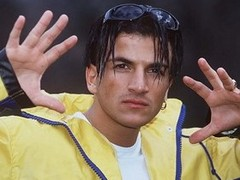 Peter Andre (supercuts_uk) Tags: music alone 1996 posed personality andre peter curtains popstar insania supercuts mysteriousgirl