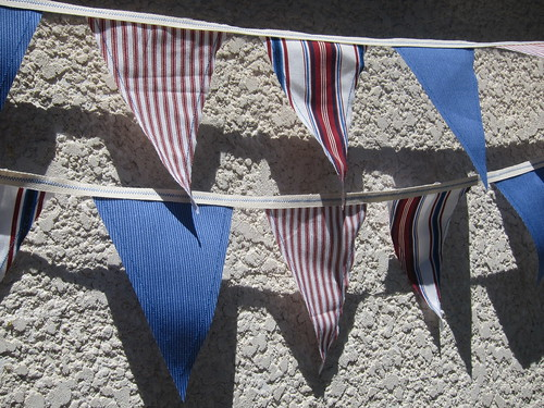 Iron Craft Challenge #27 - Stars & Striped Bunting